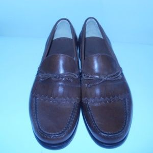 Johnston & Murphy Men's Leather Kiltie Loafer